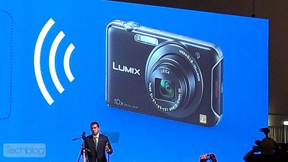 Panasonic DMC-SZ5, Παρουσιάζει στην IFA 2012 την κάμερα που μιλάει με το smartphone