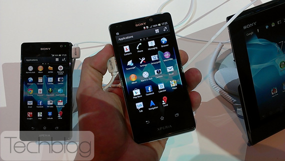 Sony Xperia T, Η νέα ναυαρχίδα των Ιαπώνων στην IFA