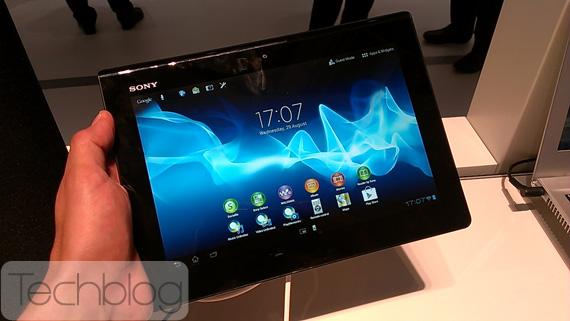Sony Xperia Tablet S, Το πρώτο tablet της Xperia οικογένειας