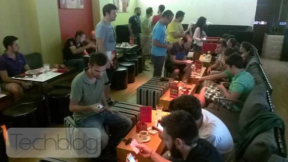 15o Techblog Workshop με το iPhone 5, Live streaming