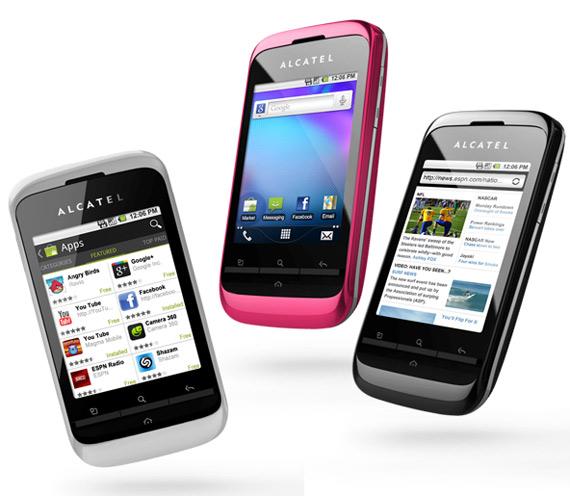 Alcatel OT-903, Εισαγωγικό Android smartphone