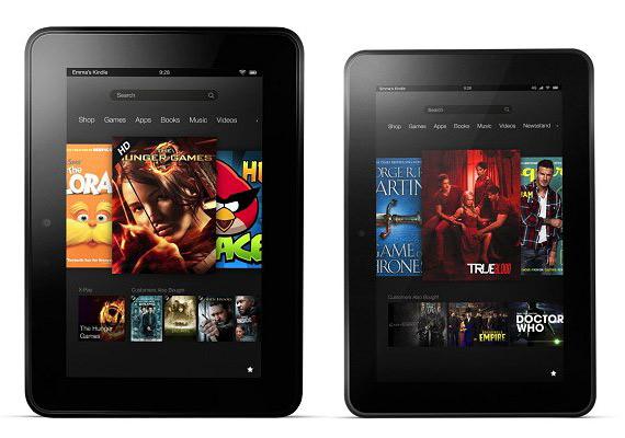Amazon Kindle Fire HD 7, Με διπύρηνο επεξεργαστή