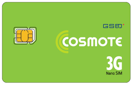 Cosmote Nano SIM iPhone 5