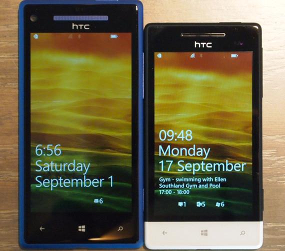 HTC 8X, Φωτογραφίες hands-on
