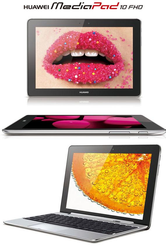 Huawei MediaPad 10 FHD, Το τετραπύρηνο tablet αποκτά πληκτρολόγιο και κυκλοφορεί μέσα στο μήνα