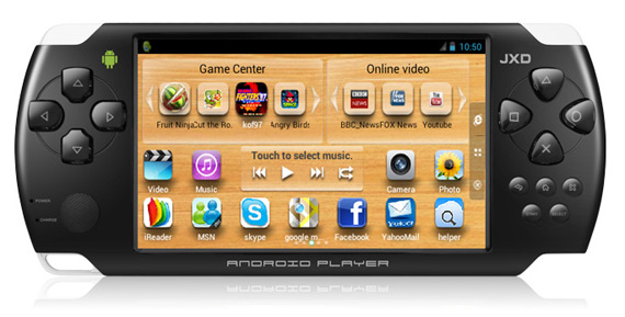 JXD S602, Μοιάζει με PSP όμως τρέχει Android games