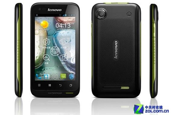 Lenovo A660, Δίκαρτο κινητό με Ice Cream Sandwich που δεν καταλαβαίνει τίποτα στο νερό και τη σκόνη