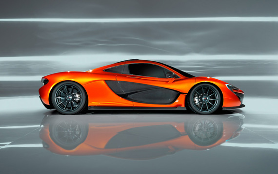 McLaren P1, Ένα high-tech εργαστήριο δύναμης σε τέσσερις τροχούς