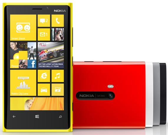 Nokia Lumia 920,  Επίσημες φωτογραφίες και πλήρη τεχνικά χαρακτηριστικά
