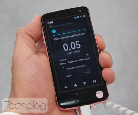 Pantone 5, Smartphone με μετρητή ραδιενέργειας [hands-on]