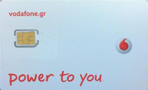 Vodafone Nano SIM iPhone 5