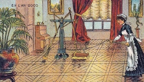 Πως βλέπανε οι άνθρωποι το 1889 ότι θα είναι το μέλλον το 2000