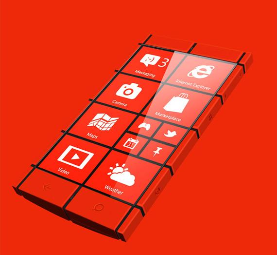 Windows Phone Kanavos [concept]