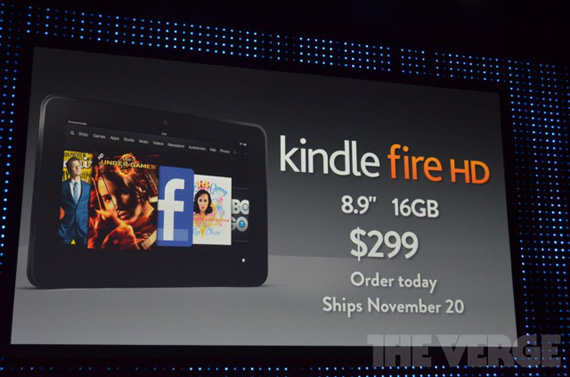 Amazon Kindle Fire HD και Kindle Fire PaperWhite, Νέα Readers και tablets από τον γίγαντα του περιεχομένου