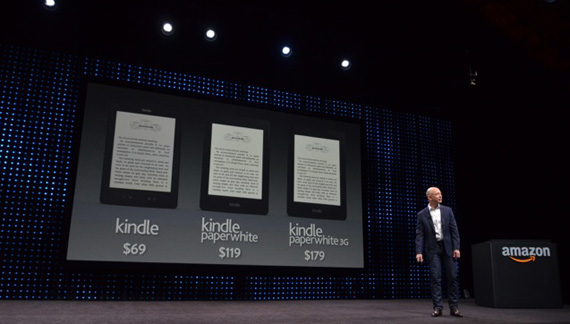 Amazon Kindle Fire HD και Kindle Fire PaperWhite, Νέα Readers και tablets από τον γίγαντα του περιεχομένου