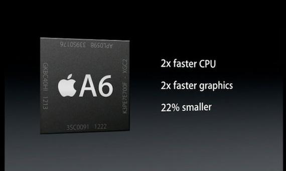 iPhone 5 A6 processor, Αναλυτικά στοιχεία για τον επεξεργαστή
