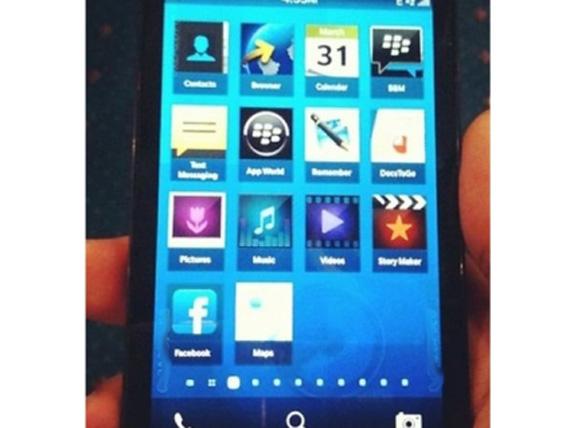 BlackBerry 10 London, Διαρρέουν οι πρώτες φωτογραφίες του touchscreen smartphone