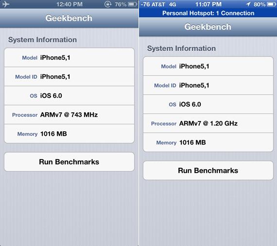 iPhone 5, Βγαίνει πρώτο σε όλες τις μετρήσεις benchmarks