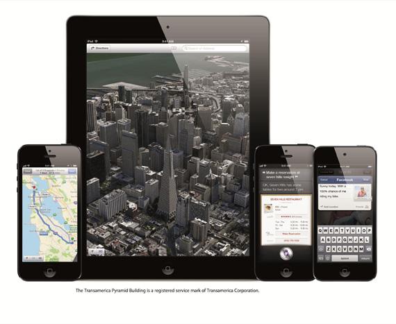 iOS 6, Στοιχεία για το νέο update στο λογισμικό και ποιες συσκευές θα το πάρουν άμεσα
