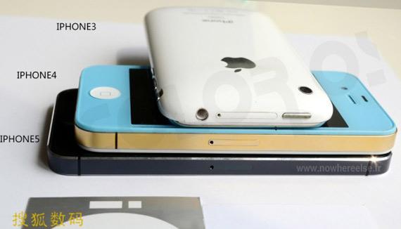Φωτογραφίες του iPhone 5 και σύγκριση με τα προηγούμενα μοντέλα [;]