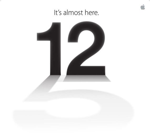 Το νέο iPhone 5 θα παρουσιαστεί την Τετάρτη 12 Σεπτεμβρίου [επίσημο]