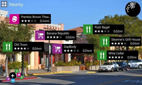 Nokia City Lens, Περισσότερες πληροφορίες για την augmented reality εφαρμογή των Lumia