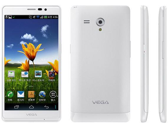 Pantech Vega R3, Tabletόφωνο με οθόνη 5.3 ίντσες και επεξεργαστή Snapdragon S4