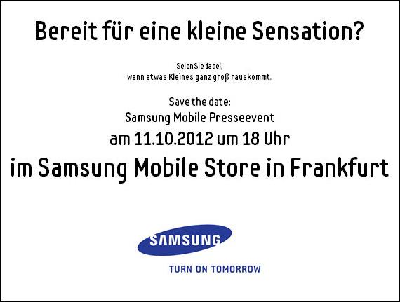 Samsung Mobile, Όταν κάτι μικρό γίνεται μεγάλο [event]
