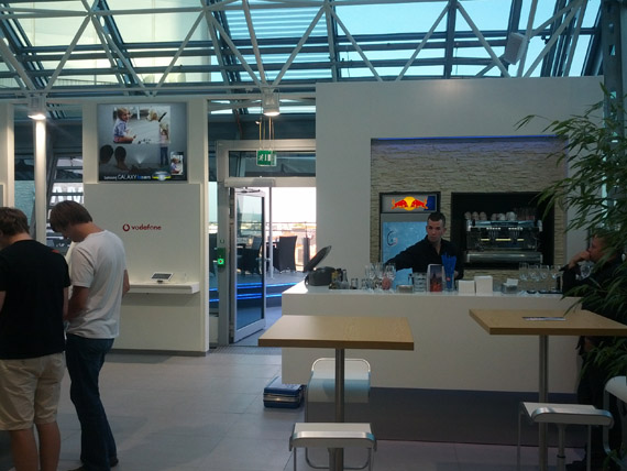 Samsung Store στη Φρανκφούρτη, Φωτογραφίες από το κατάστημα