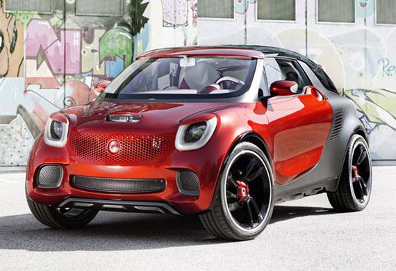 Smart ForStars concept, Ένα όχημα με media player και βιντεοπροβολέα