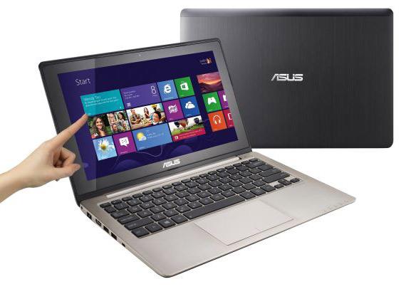 ASUS VivoBook Series, Ultrabooks με οθόνη αφής και Windows 8