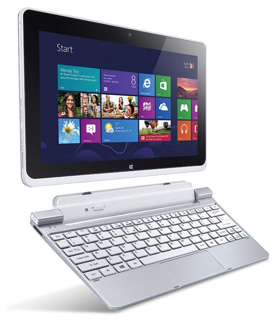 Acer W510, Windows 8 tablet με keyboard dock και τιμή 499 ευρώ;