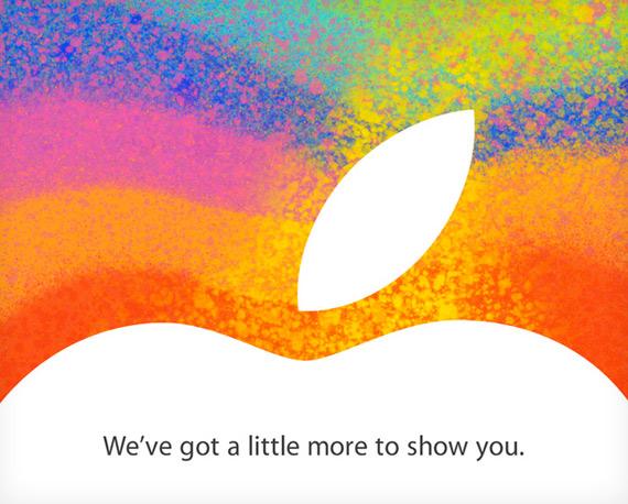 iPad Mini, Η Apple ανακοίνωσε επίσημα το event της 23ης Οκτωβρίου