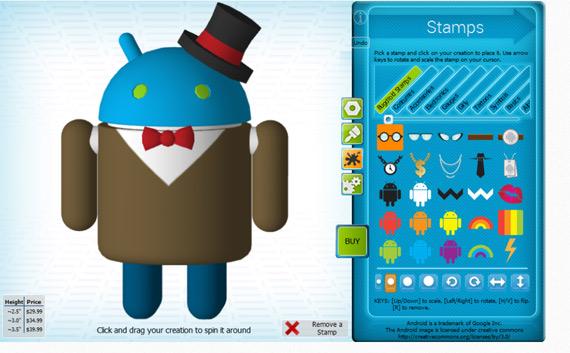 Cubify Android App, Δημιούργησε και πάρε σπίτι το δικό σου Android ανθρωπάκι