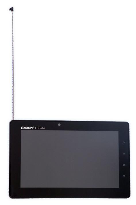 Edision EdiTab 2, Android tablet με ψηφιακή τηλεόραση και GPS