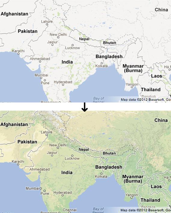 Οι Google Χάρτες ανανεώθηκαν ως προς τα γεωγραφικά χαρακτηριστικά