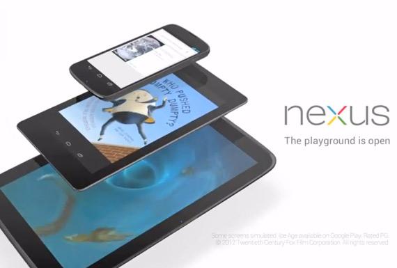 Google Nexus 10, Το πρώτο επίσημο βίντεο