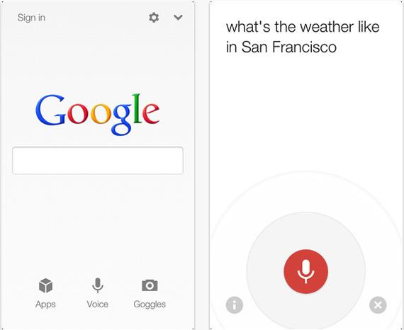 Google Search app, Update και στην έκδοση για το iOS με δυνατότητα χρήσης και στο iPhone 5