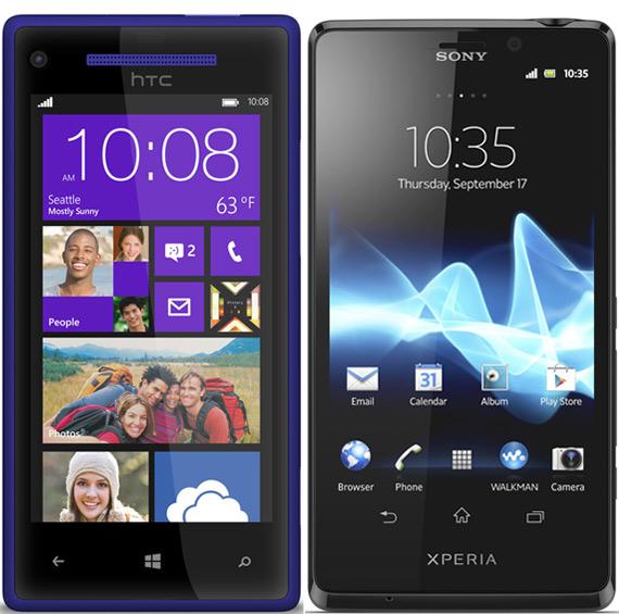 HTC 8X ή Sony Xperia T, Κόντρα στα 6 κατοστάρικα +poll