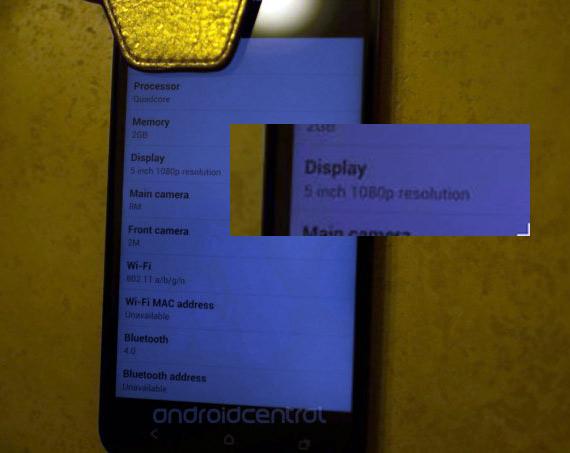 HTC DLX, Με οθόνη 5 ιντσών Full HD για την Αμερική