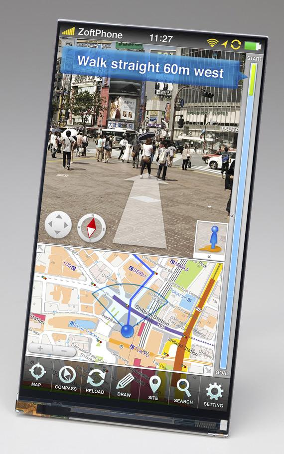 Japan Display, Οθόνη 5 ιντσών IPS Full HD 1080p με 443ppi