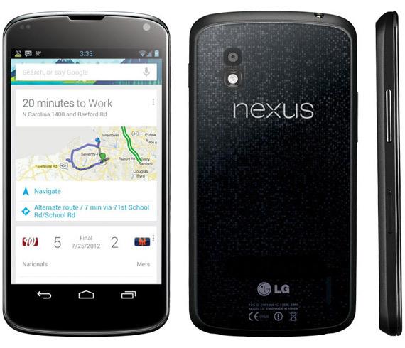 LG Nexus 4, Αγγλία κυκλοφορεί 30 Οκτωβρίου με 485 ευρώ