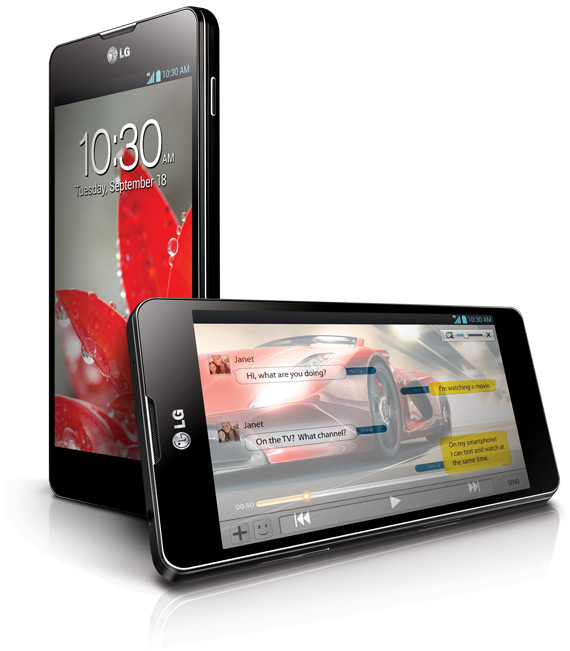 LG Optimus G, Συνεχίζει να εντυπωσιάζει και στην CES 2013