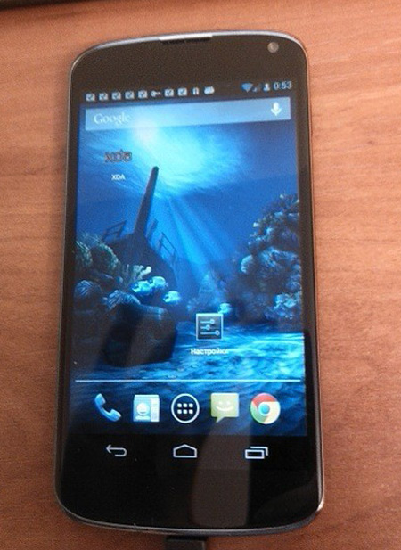 LG Optimus Nexus E960 Mako, Δύο νέες φωτογραφίες
