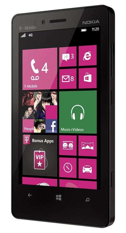 Nokia Lumia 810, Με ελαφρώς καλύτερα τεχνικά χαρακτηριστικά για την αγορά της Αμερικής
