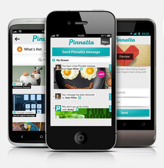 Pinnatta app, Στείλτε