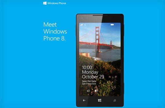 Windows Phone 8, Στις 29 Οκτωβρίου τα επίσημα αποκαλυπτήρια