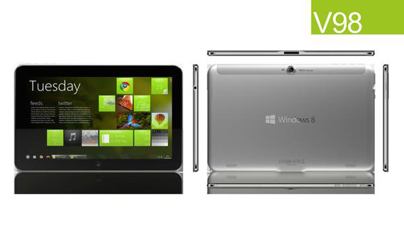 ZTE V98, Windows 8 tablet