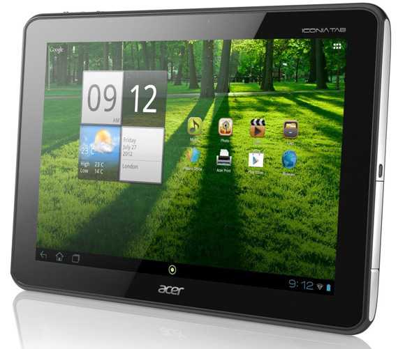 Acer Iconia Tab A700, Ξεκίνησε η αναβάθμιση σε Android 4.0 Ice Cream Sandwich