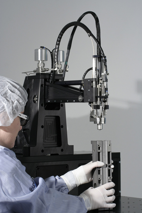 Fraunhofer Cleaning Alliance, Καθαρισμός με διοξείδιο του άνθρακα